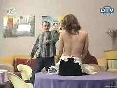Topless Russian Candid Prank