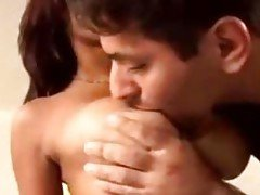 Gorgeous Busty Indian Babe Takes...