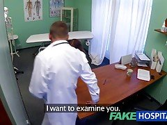 FakeHospital Teen model cums for...