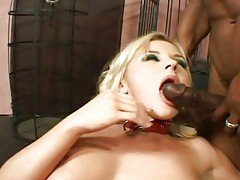 Whore Bree Olson gets her mouth ...