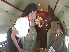 Beautiful Stewardess Is Fucking ...