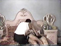 Arabian Hot Couple Old Video